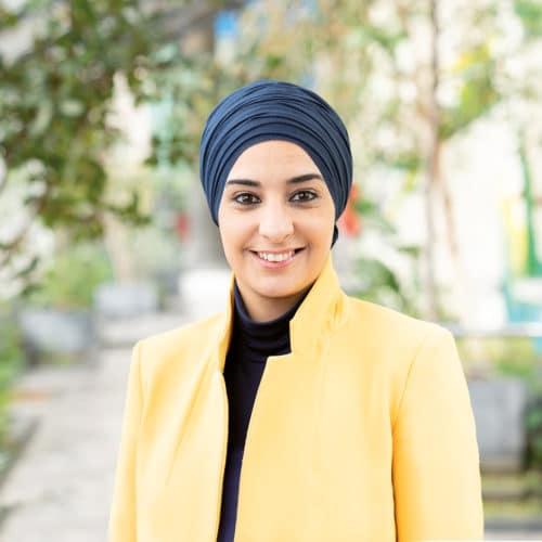 Portrait de Farida Tahar