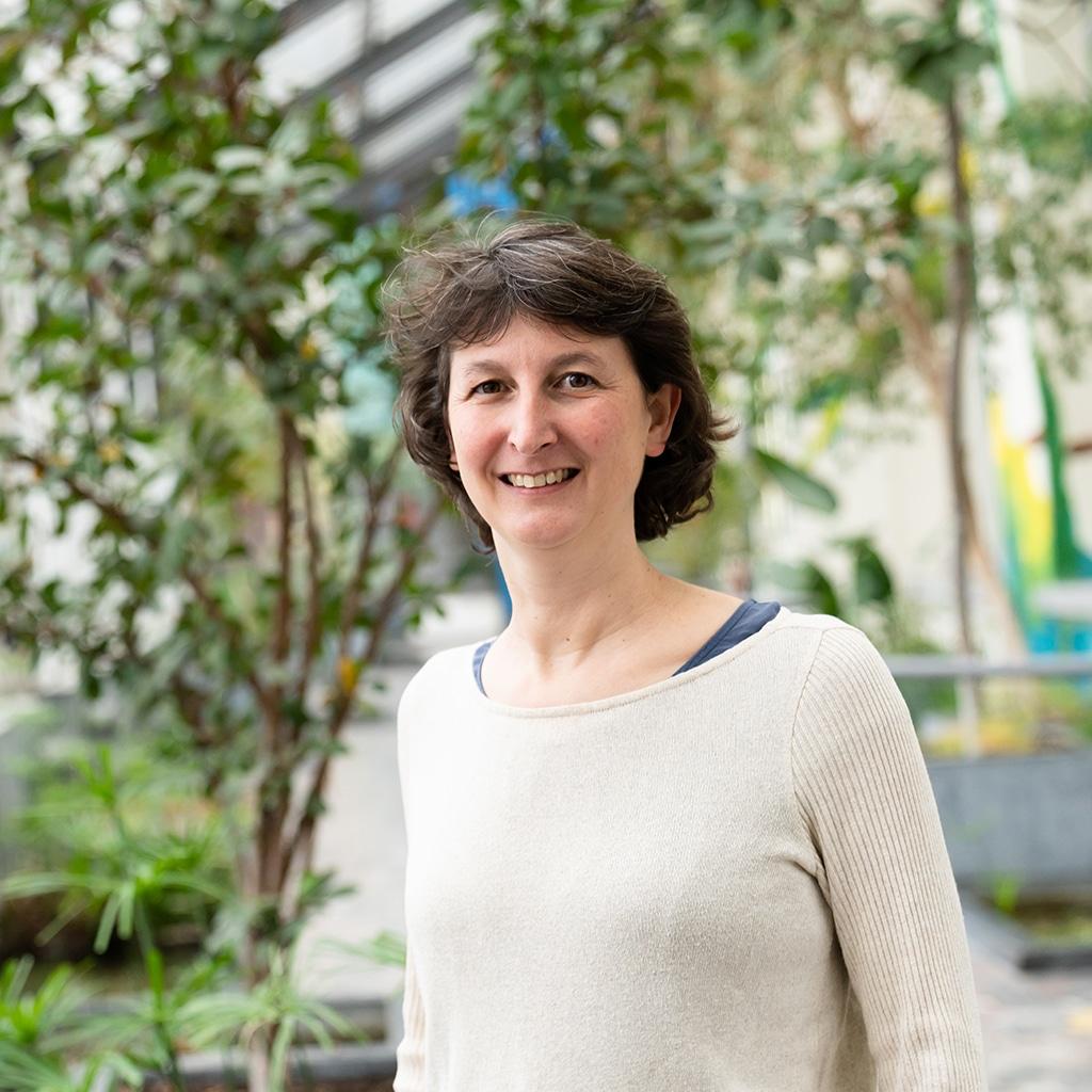 Portrait de Ingrid Parmentier