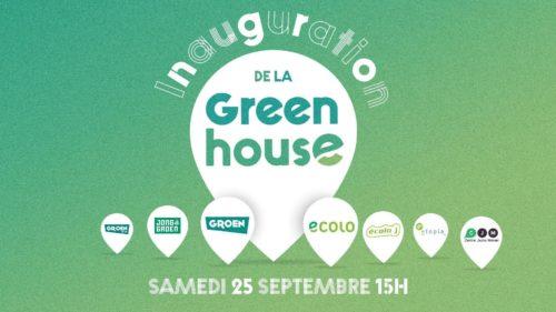 Image pour l'actualité Inauguration de la Greenhouse, symbole de la collaboration Ecolo-Groen